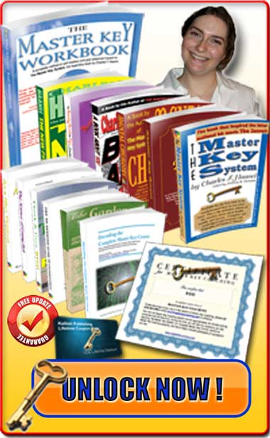 The Complete Master Key Course - All the books by Charles F. Haanel plus a lot more!
