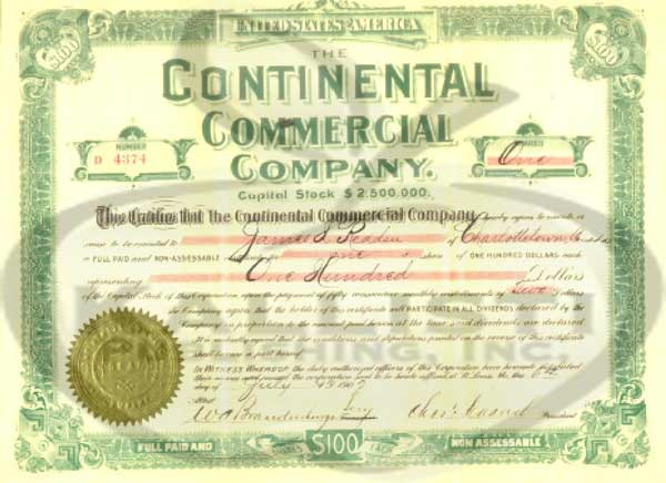 Continental Commercial Group 110